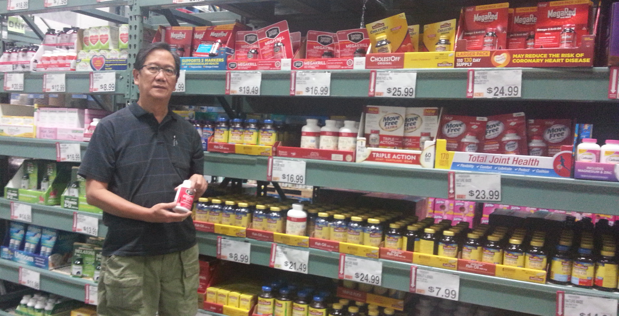 Tom Ranada sourcing nutritional supplements in the US