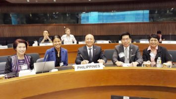 Philippine representatives to the Regional Seminar on Innovative Climate Finance Instruments for Financial Institutions